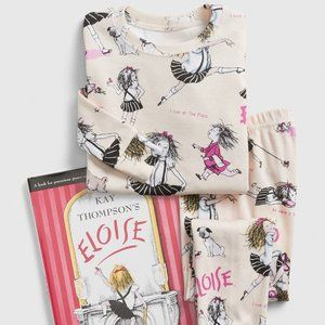 NWT BabyGap Books to Bed Eloise PJ Set-4yrs